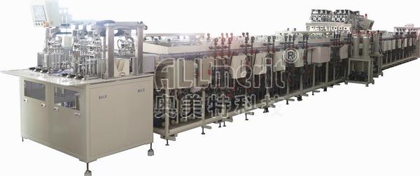 片式高密度集成电路qfn引线框架全自动电镀设备