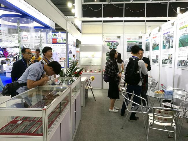 奥美特科技携集成电路引线框架制造装备新品亮相中国电子展