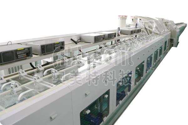 全自动卷对卷宽排高密度引线框架轮镀式选择镀银设备