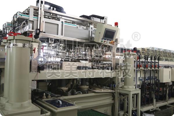 片式IC引线框架高速电镀设备