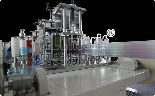 引线框架铜带贴膜高速镀镍设备